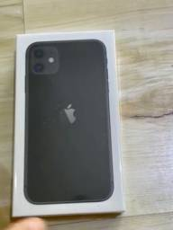iPhone 11 64gb lacrado, nota e garantia.