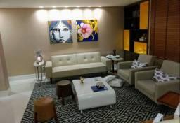 Apartamento 2 suítes nascente decorado e mobiliado no Corredor da Vitória