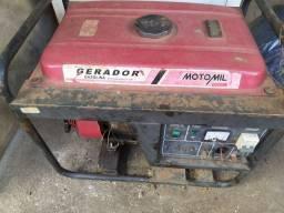 Gerador MotoMil MG3000CL usado Anápolis