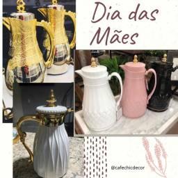 Garrafa Térmica Vintage e de Luxo - Dia das Mães