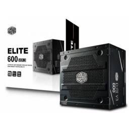 Fonte ATX para Computador /600W/Cooler Master Elite.