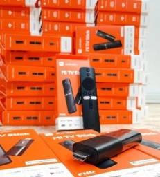 Tv Box Mi TV Stick Xiaomi Full HD com Wi-Fi e Bluetooth - Preto