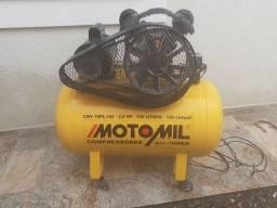 Título do anúncio: Vendo Compressor de ar. Motomil