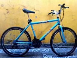 Bicicleta com cubo roletados