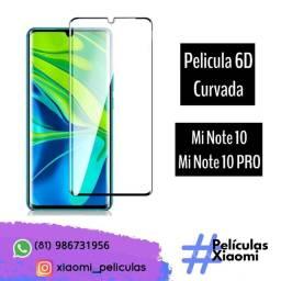 Película 6D CURVADA Xiaomi Mi Note 10 / Mi Note 10 PRO/ Mi Note 10 Lite