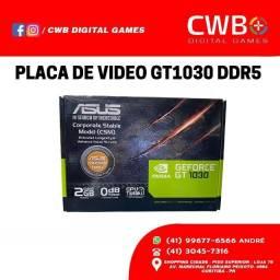 Placa de Video Asus Geforce GT 1030. Novo lacrado e com garantia. Loja física