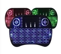 Promoção - Mini teclado s/fio com touchpad