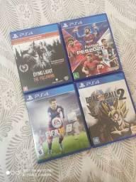 Jogos PS4 vendo ou troco