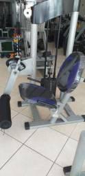 Ótima cadeira extensora tubular