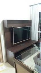 Estante com painel para TV