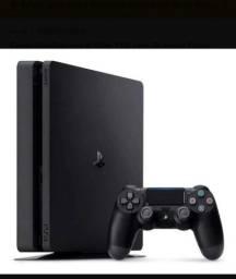 Vendo PlayStation 4 slin 1 terá e 1 jogo físico do pes 2021
