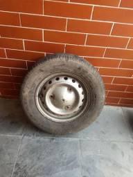 Uma roda do corcel 1