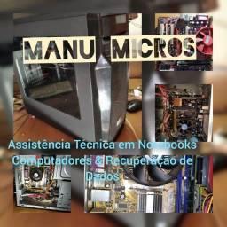 Assistência Técnica em Notebooks Computadores & Recuperação de Dados