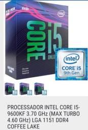 Processador i5 nona geração gamer