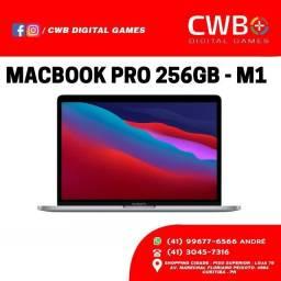 MacBook PRO com chip M1, 256GB. Mod. 2020. Novo, lacrado. Garantia Loja física