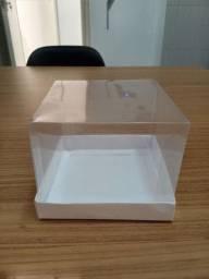 Caixa de acetato 10X10X10
