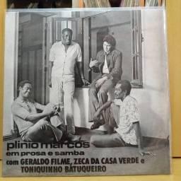 Lp Plínio Marcos/ Em prosa e Samba ( 1974 )