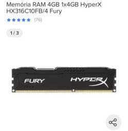 MEMORIA 4GB HYPERX 1600 MHz