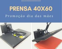 Prensa térmica plana 40x60