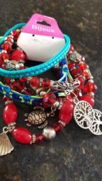Vendo kit  MIX pulseiras por 150,00 tudo