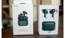 Fone Bluetooth QCY T10 verde Militar