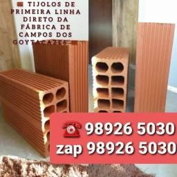 Tijolos grandes em promoção R$ 920,00