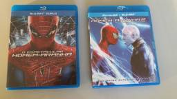 Blu-rays - O espetacular Homem Aranha  1 e 2