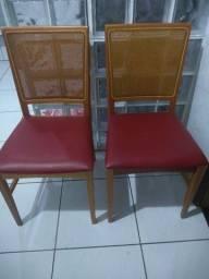 Cadeiras decorativa ( madeira) Aceito pix