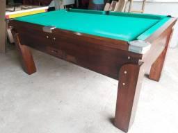 Snooker (Sinuca) nova de madeira rústica completa tudo na descrição, fazemos a entrega