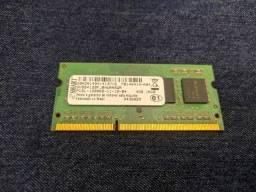 Memória RAM Notebook DDR3 4GB 1600Mhz