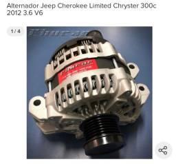Alternador novo,comprei e acabei n usando,grand cherokee e Chrysler
