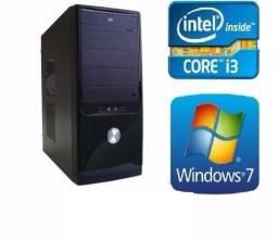 Só hoje CPU i3 4gb hd 500gb