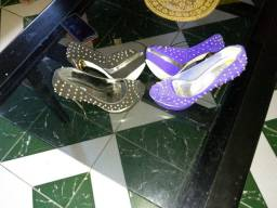 Sapato marca via Marte  os dois mesma marca