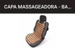 Encosto massageador bolinha madeira
