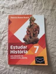Livro - Estudar História 7 Usado