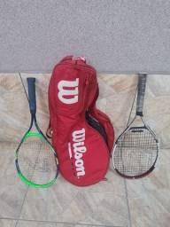 Bolsa e Raquetes