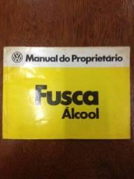 Manual Fusca Álcool 1981
