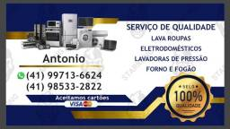 Conserto e Assistência Técnica em Geral - Maquina de lavar e Eletrodomésticos