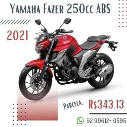 Yamaha Fazer 250cc ABS 2021