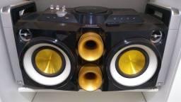 Mini system, caixa de som Philips hifi fwp200x/78 bivolt troco caixa jbl