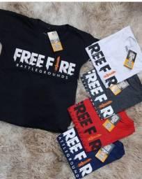 Camisetas Infantil Free Fire