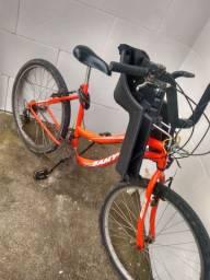 Bicicleta Samy Wave + cadeira