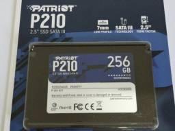 HD ssd Patriot P210 256gb Sata 3 540mb/s ? novo