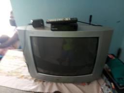 TV de tubo 21polegadas com conversor digital