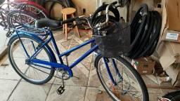 Bicicleta poti aro 26 azul nova