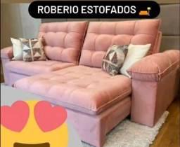 Promoção sofá Retrátil
