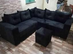 Ofertas imperdíveis sofa cm puff d brinde
