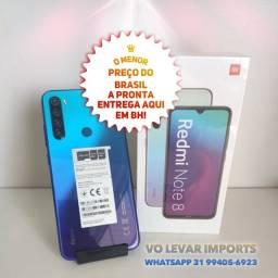 O MENOR PREÇO do BRASIL! Xiaomi NOTE 8 128GB - Novo Lacrado Garantia - GLOBAL