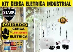 Kit Cerca Elétrica Industrial