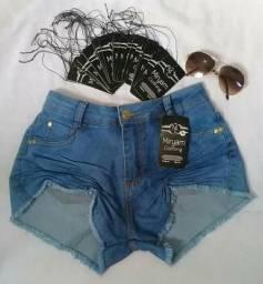 Short jeans leia o anúncio